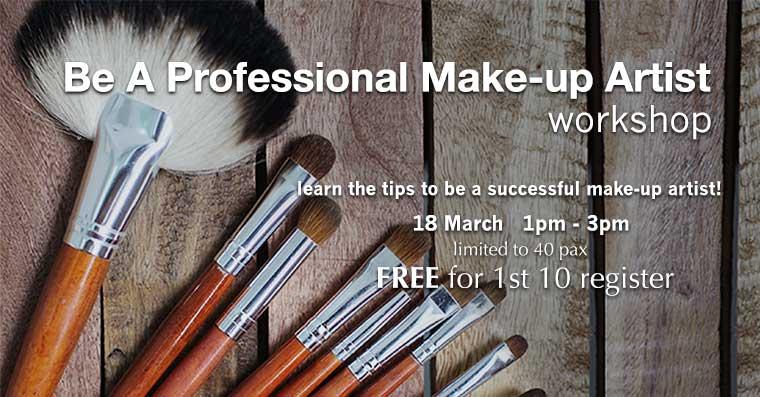 针对零基础学员,成为化妆师的第一步!