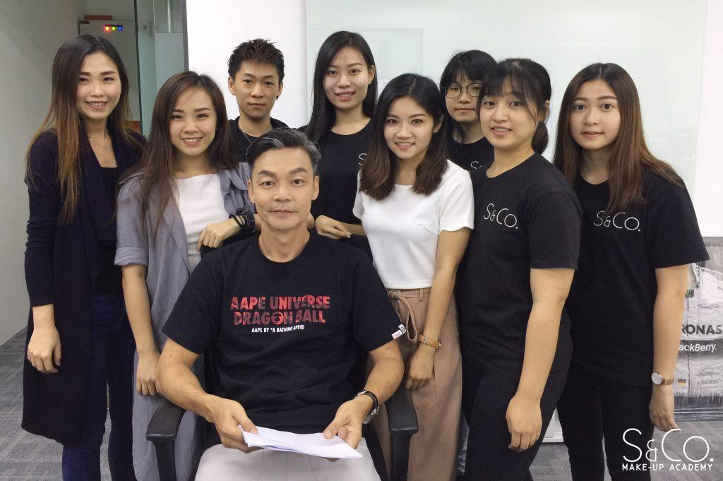 S & Co. Makeup Acdemy 非常荣幸能成为知名艺人李国煌大哥的化妆赞助商!