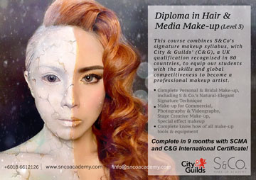 make-up artistry foundation course Malaysia