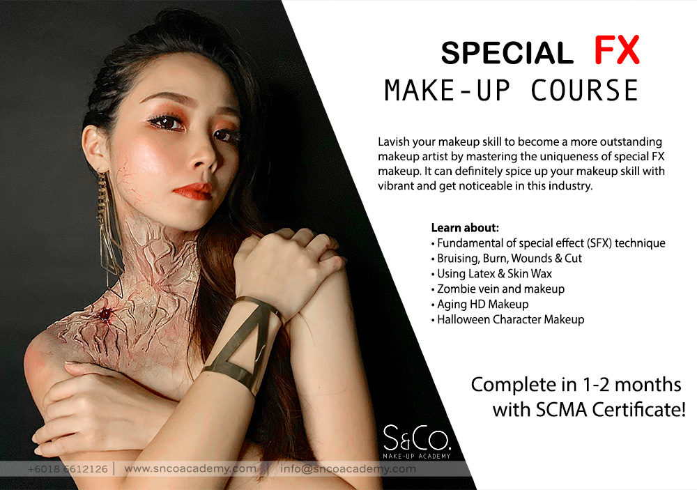 Special Fx Sfx Make Up Course S Co