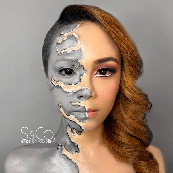 Creative make-up course in Malaysia